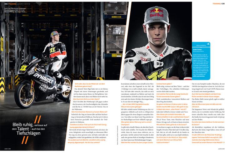 LOOX Magazin – Sandro Cortese